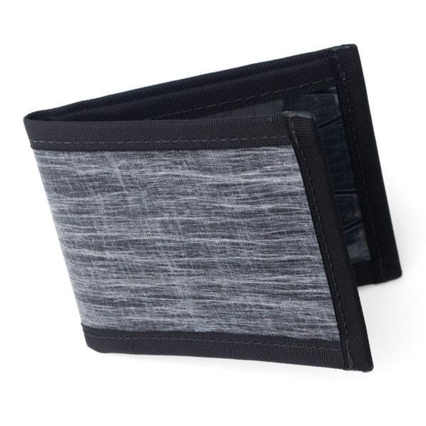 FLOWFOLD Vanguard Limited Slim Bifold Wallet Front Pocket Waterproof Sailcloth
